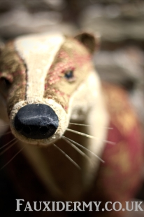 badger-fauxidermy-taxidermy-textile-fabric