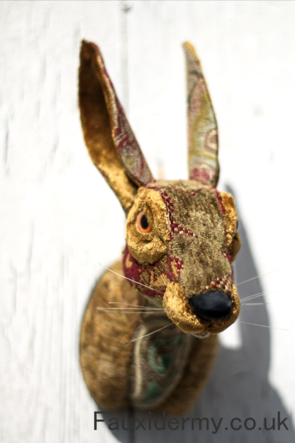hare-taxidermy-fauxidermy-textile-trophy-head-fabric