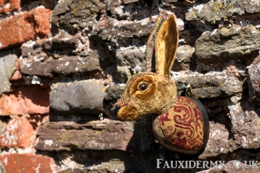 rabbit-bunny-fauxidermy-taxidermy-textile-fabric-trophy-head