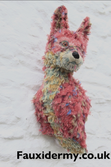 fox-textile-taxidermy-fauxidermy-mabinogion-welsh-wool-