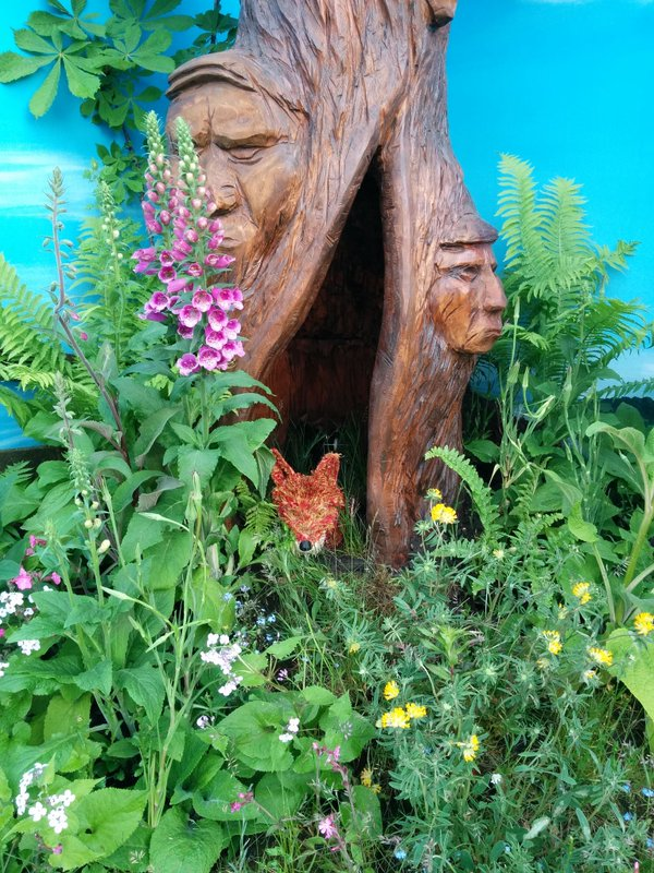 Chelsea flower show – Fauxidermy Fantastic Mr fox